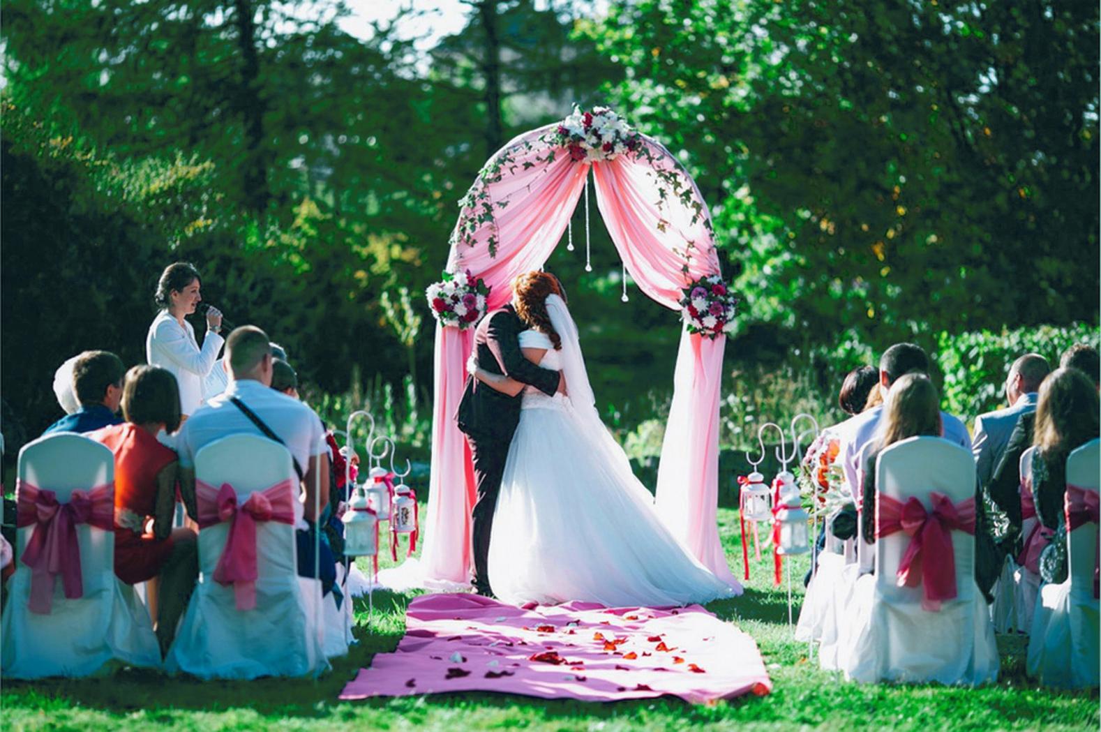 Свадьба регистрация за городом